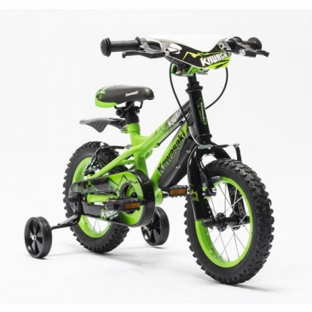 Bicicleta copii Kawasaki KRUNCH 12 green by Merida Italy