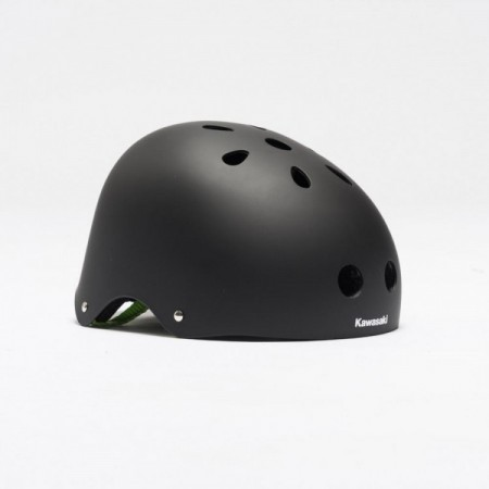Casca copii BMX black Kawasaki