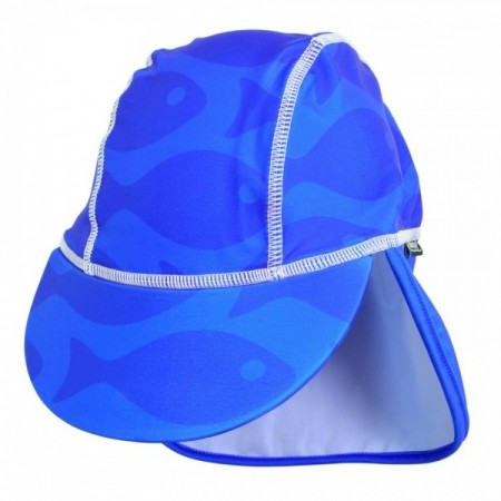 Sapca Fish blue 2- 4 ani protectie UV Swimpy