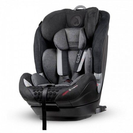 Scaun auto Impero cu Isofix si Top Tether 9-36 Kg Black Coletto