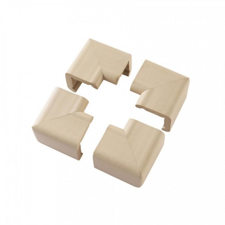 Set 4 pernute XL protectoare colturi mobilier 3053 Clevamama