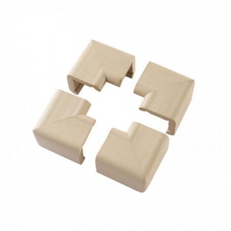 Set 4 pernute protectoare colturi mobilier 3054 Clevamama