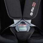 Scaun auto cu isofix SLF123 PLUS Q-FIX Carbon 9-36 kg Kiwy