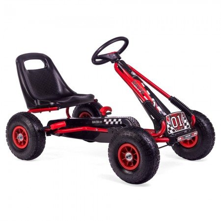 Kart cu pedale Racer Air Kidscare