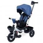 Tricicleta cu scaun rotativ Evora albastru KidsCare