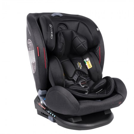 Scaun auto Rear Facing cu Isofix Cascade black 0-36 kg Coletto
