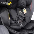 Scaun auto Rear Facing cu Isofix Cascade grey 0-36 kg Coletto