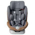 Scaun auto Allegra rotativ cu Isofix 0-36kg gri KidsCare
