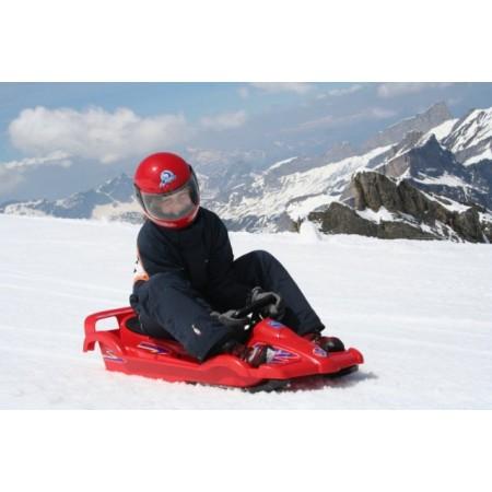 Sanie copii cu volan Race red Alpen Gaudi