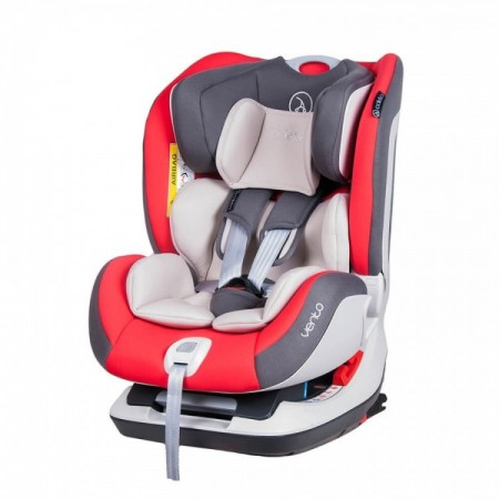 Scaun auto Vento cu ISOFIX si Top-Tether 0-25 kg Red Coletto