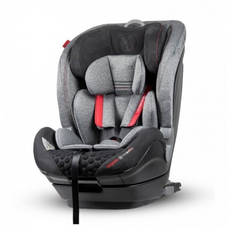 Scaun auto Impero cu Isofix si Top Tether 9-36 Kg Grey Coletto
