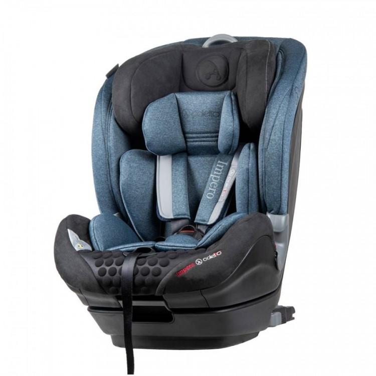 Scaun auto Impero cu Isofix si Top Tether 9-36 Kg Blue Coletto