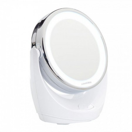 Oglinda cosmetica iluminata LED cu marire de 10 X Lanaform