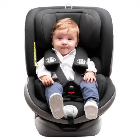 Scaun auto Allegra rotativ cu Isofix 0-36kg negru KidsCare