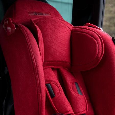 Scaun auto SANTINO cu ISOFIX Red Coletto