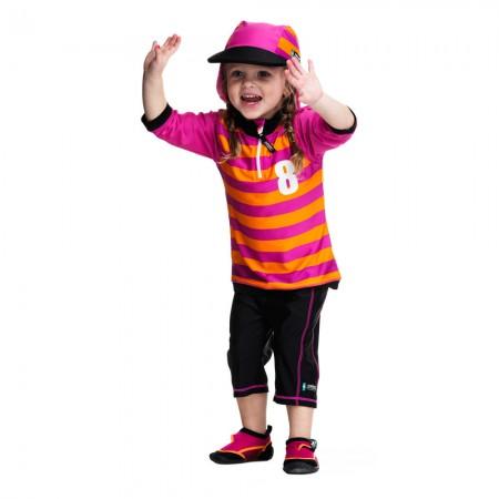 Costum de baie Sport pink marime 92- 104 protectie UV Swimpy