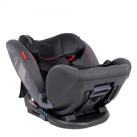 Scaun auto Rear Facing cu Isofix Cascade red 0-36 kg Coletto