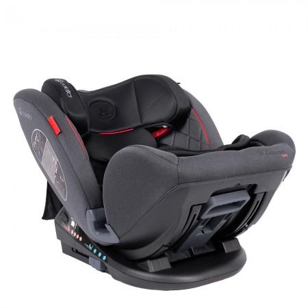 Scaun auto Rear Facing cu Isofix Cascade black 0-36 kg Coletto