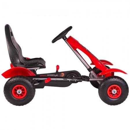 Kart cu pedale F618 Air rosu Kidscare