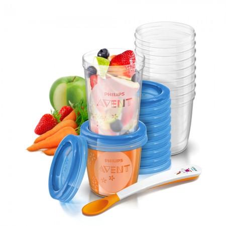 Recipiente pentru stocarea hranei +6 luni SCF721/20 Philips Avent