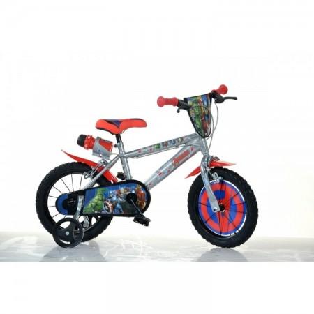 "Bicicleta copii Avengers 14"" Dino Bikes 414U-AV"
