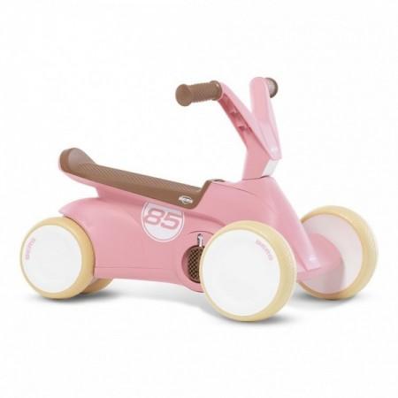 Kart cu pedale GO 2 Retro Roz Berg Toys