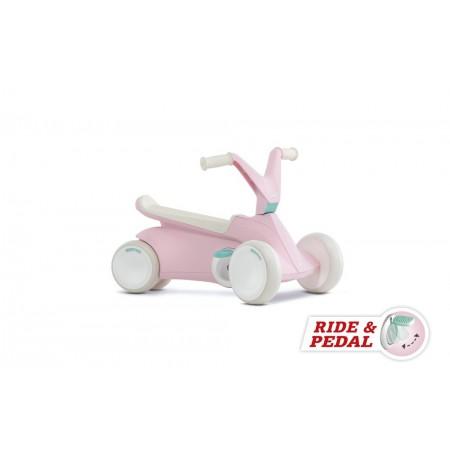 Kart cu pedale GO 2 Roz Berg Toys