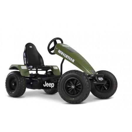 Kart cu pedale XL Jeep Revolution BFR-3 Berg Toys