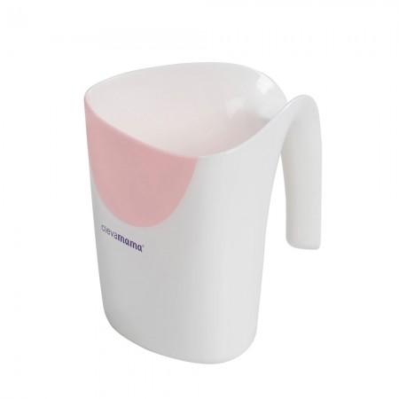 Cana pentru clatire Clevamama pink 3526