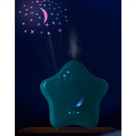 Umidificator de camera cu proiector si lumina de noapte Moony Lanaform