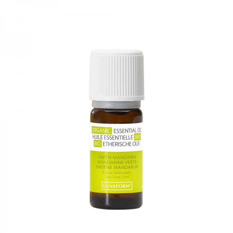 Ulei organic cu aroma de mandarin verde pentru camera Lanaform