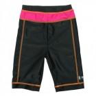 Pantaloni de baie pink black marime 92- 104 protectie UV Swimpy